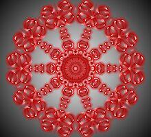 Red Kaleidoscope 11 by fantasytripp