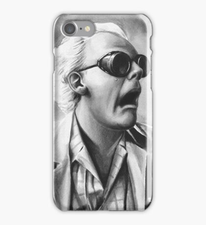 doc brown iPhone Case/Skin