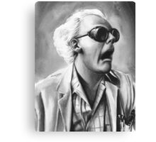 doc brown Canvas Print