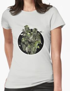 Metal Gear Solid Snake Eater (2) Womens Fitted T-Shirt