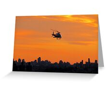 NYPD, New York City  Greeting Card