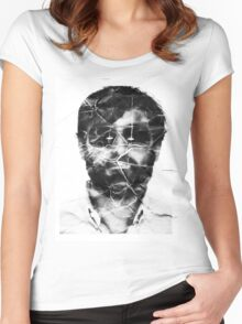 Mr. Oizo / Quentin Dupieux  Women's Fitted Scoop T-Shirt