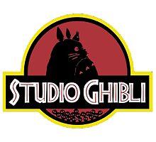 ghibli studio jurassic style by EvanMabe
