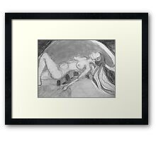Moon Surrender Framed Print