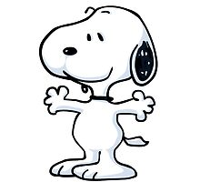 snoopy funny tears by EvanMabe