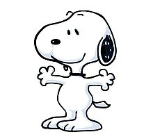 snoopy funny tears Photographic Print