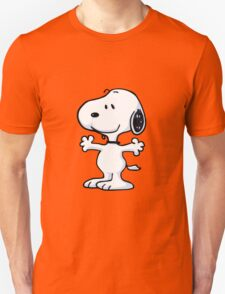 snoopy funny tears Unisex T-Shirt