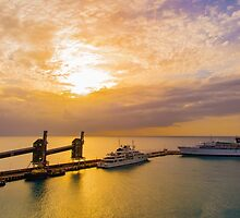 Barbados Harbour by Shaynelee