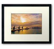 Barbados Harbour Framed Print