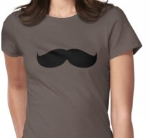 Moustache Womens Fitted T-Shirt