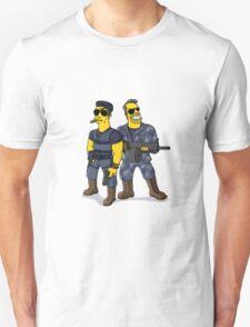 Sylvester Stallone and Arnold Schwarzenegger T-Shirt