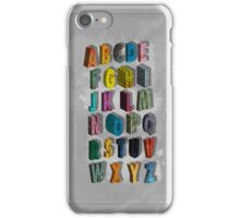 alphabet city iPhone Case/Skin