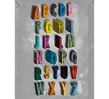 alphabet city Photographic Print