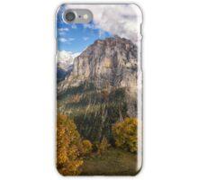 Mürren's Golden Cloak iPhone Case/Skin