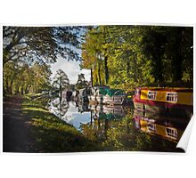 Monmouthshire and Brecon Canal at Goytre Poster
