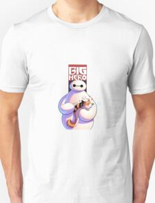 baymax with the cat T-Shirt