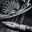 Antique Pen by Ellesscee