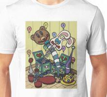 Teddy Bear And Bunny - Jacks In The Box Unisex T-Shirt