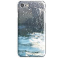 Scratches on Aquarium Glass iPhone Case/Skin