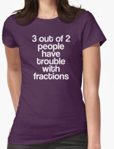 Fractions Womens Fitted T-Shirt