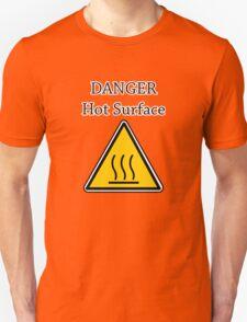 Danger I´m HOT2 Unisex T-Shirt