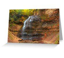 Tiffany Falls © Greeting Card