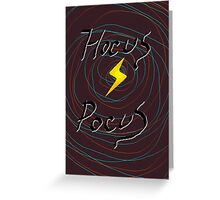 halloween hocus pocus witch     Greeting Card