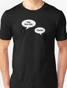 Maths - Hey Nice Belt Unisex T-Shirt