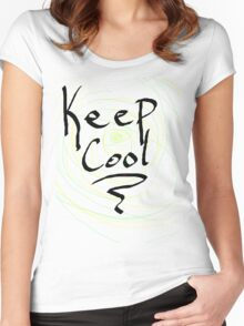 keep cool Women's Fitted Scoop T-Shirt