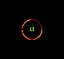 Xbox Red Ring of Death (RROD) by spyderjava