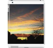 Sunset over Suburbia iPad Case/Skin