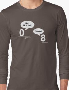 Maths - Hey, Nice Belt Long Sleeve T-Shirt