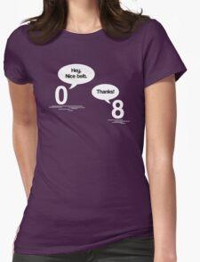 Maths - Hey, Nice Belt Womens Fitted T-Shirt