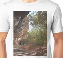 Walking through Windjana Gorge,  Western Australia Unisex T-Shirt