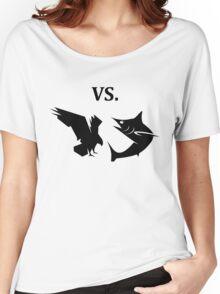 eagle vs shark  Women's Relaxed Fit T-Shirt