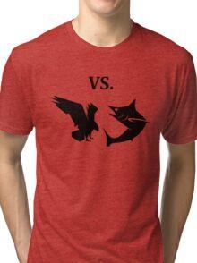 eagle vs shark  Tri-blend T-Shirt