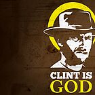 Clint is God by hookillustrator