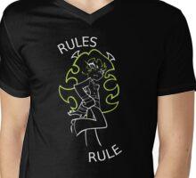 Rules Rule Mens V-Neck T-Shirt