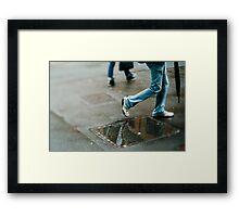 Tilt and shift #2  Framed Print