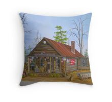 Old Sautee Store, Georgia Throw Pillow