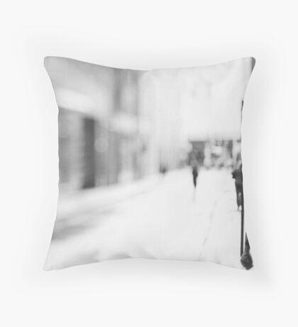 Tilt and shift #1 Throw Pillow
