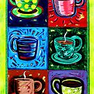 'SIX COFFEE CUPS' by Jerry Kirk