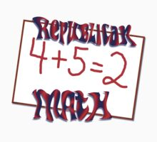 Republican Math by artbyjehf