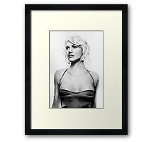 number six Framed Print