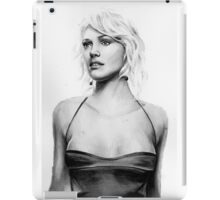 number six iPad Case/Skin