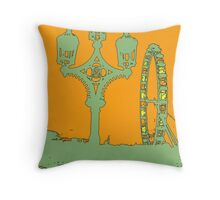 London Sketch Throw Pillow