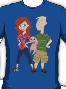 Amy Possible + Rory Stoppable  T-Shirt