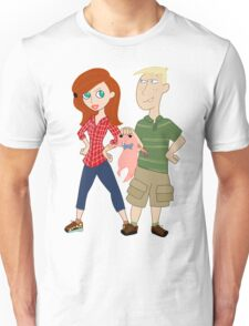 Amy Possible + Rory Stoppable  Unisex T-Shirt