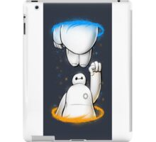 baymax time machine  iPad Case/Skin