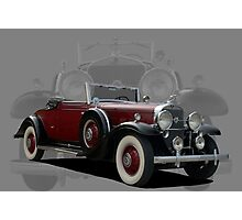1931 Cadillac Roadster V12 Photographic Print